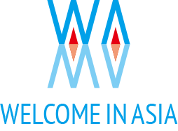 Welcome in Asia Logo